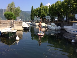 Porto Portese paddle board spot in Italy