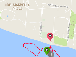 Elviria spot de stand up paddle en Espagne