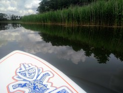 Friedrichshof paddle board spot in Germany