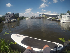 Nieuwkoopse Plassen paddle board spot in Netherlands