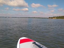 hamworthy seafront 1 paddle board spot in United Kingdom