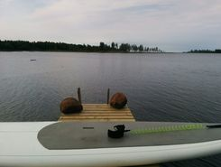 ii summer cottage paddle board spot in Finland
