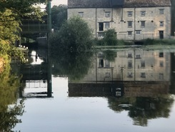 Oundle marina paddle board spot in United Kingdom