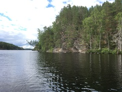 Sarkavesi paddle board spot in Finland