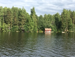 Sarkavesi sitio de stand up paddle / paddle surf en Finlandia