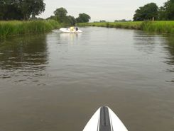 Aalsum paddle board spot in Netherlands