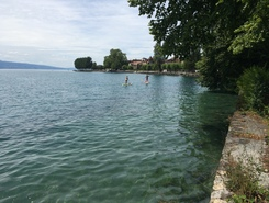 Lac Léman - Cully paddle board spot in Switzerland