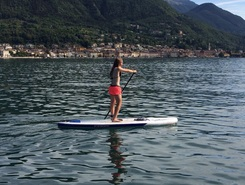 Family sup sitio de stand up paddle / paddle surf en Italia