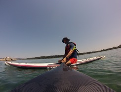 Sporting Club Sabazia paddle board spot in Italy