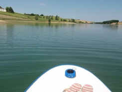 Lac du Laragou paddle board spot in France