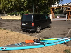 Pirogue piot  paddle board spot in France