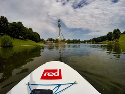 Olympiasee sitio de stand up paddle / paddle surf en Alemania