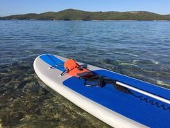 Sibenic paddle board spot in Croatia