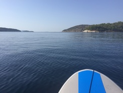 Cornati 2 Agosto paddle board spot in Croatia