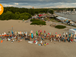 Pirita Surfiklubi spot de stand up paddle en Estonie
