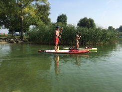 Sugiez spot de stand up paddle en Suisse