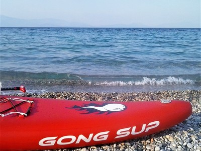 GREECE : KIATO spot de stand up paddle en Grèce