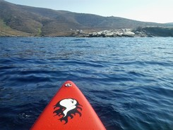 GREECE :  SERIFOS ISLAND :  PLATIS GIALOS BAY spot de stand up paddle en Grèce