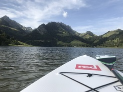 lac noir spot de stand up paddle en Suisse
