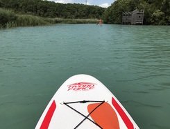 Rhône  spot de stand up paddle en Suisse