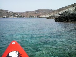 Kythnos Island : Agios Dimitrios paddle board spot in Greece