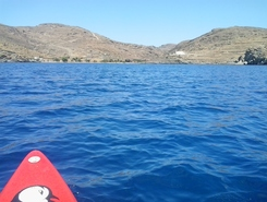 GREECE :  KYTHNOS ISLAND :  AGIOS STEPHANOS spot de stand up paddle en Grèce