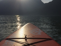 Rotzloch sitio de stand up paddle / paddle surf en Suiza