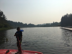 Young Lake at Camp Banard sitio de stand up paddle / paddle surf en Canadá