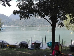 Basso Ceresio sitio de stand up paddle / paddle surf en Suiza