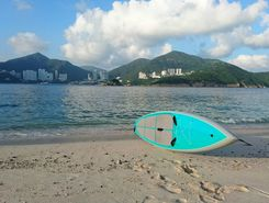 middle island sitio de stand up paddle / paddle surf en RAE de Hong Kong (China)