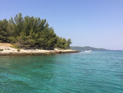 Giretto  paddle board spot in Croatia