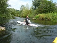River Vechte, Niedersachsen/Germany spot de stand up paddle en Allemagne