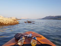 Pag sitio de stand up paddle / paddle surf en Croacia