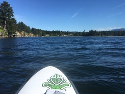 Pacific Shores Resort & Spa paddle board spot in Canada
