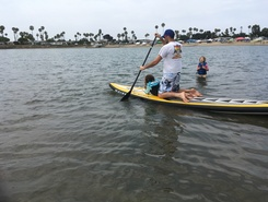 De Anza Cove Park paddle board spot in United States