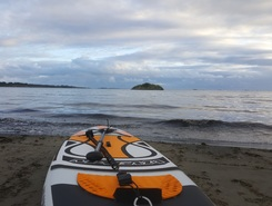 Vistestrand paddle board spot in Norway