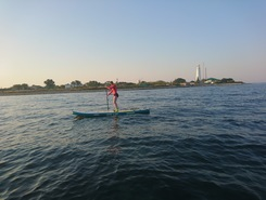 Оленевка sitio de stand up paddle / paddle surf en Ucrania