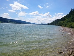 Lac de Joux - Le Rocheray  sitio de stand up paddle / paddle surf en Suiza