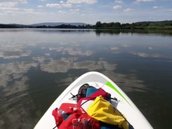 erschwege paddle board spot in Germany