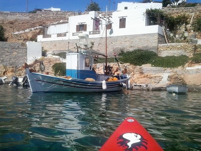 Sifnos Island paddle board spot in Greece