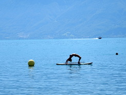 Lutry - Paddle Center Lutry paddle board spot in Switzerland