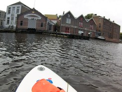 Amsterdam Oosterdok spot de stand up paddle en Pays-Bas
