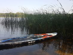 giedrys paddle board spot in Lithuania