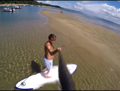 la vigne paddle board spot in France