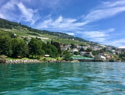 Plage de la Pichette paddle board spot in Switzerland