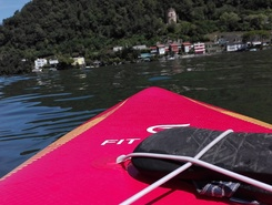 Basso Ceresio paddle board spot in Switzerland