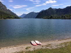 Lago idro  paddle board spot in Italy
