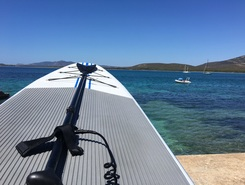 Porto Conte paddle board spot in Italy