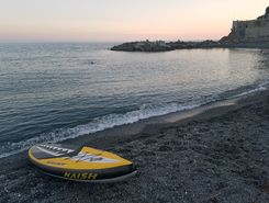 vernazzola  paddle board spot in Italy
