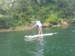 courtenay  airpark spot de stand up paddle en Canada